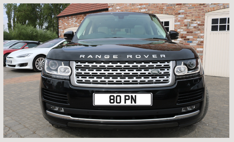 Private number plate 80 PN