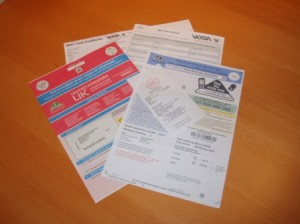 Car Tax Documents