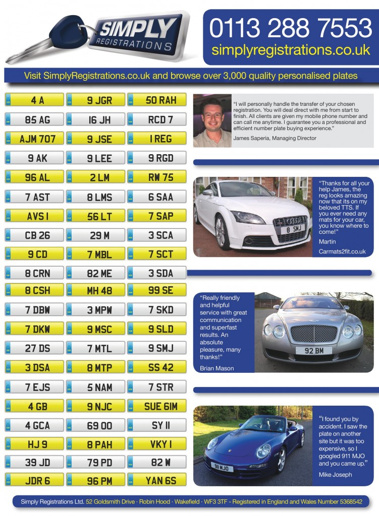 Advert from What Car Magazine