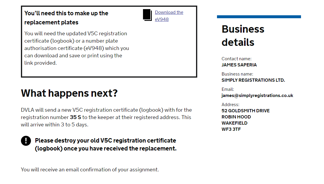 Ways achieve private registrations work?