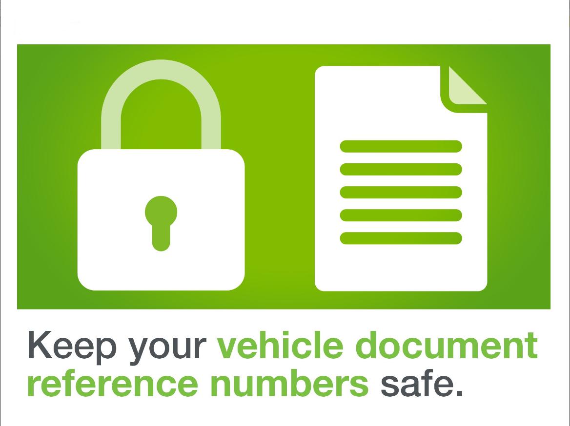 DVLA image keep documents safe