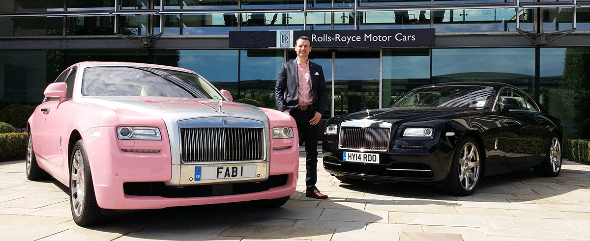 Simply Registrations - Rolls Royce Visit